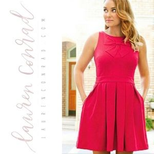 Lauren Conrad Barbie Pink Party Dress with Bow